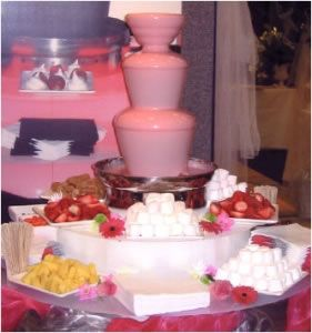 Event Hire - Chocolate Fountain Hire for weddings and events