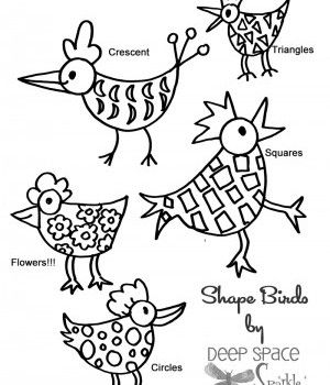 Free Shape-Bird-Handout