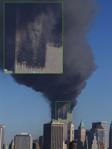 September 11 2001 Twin Towers | September 11 News.com - Mysteries - Crosses in the Ruins, & Faces in ...