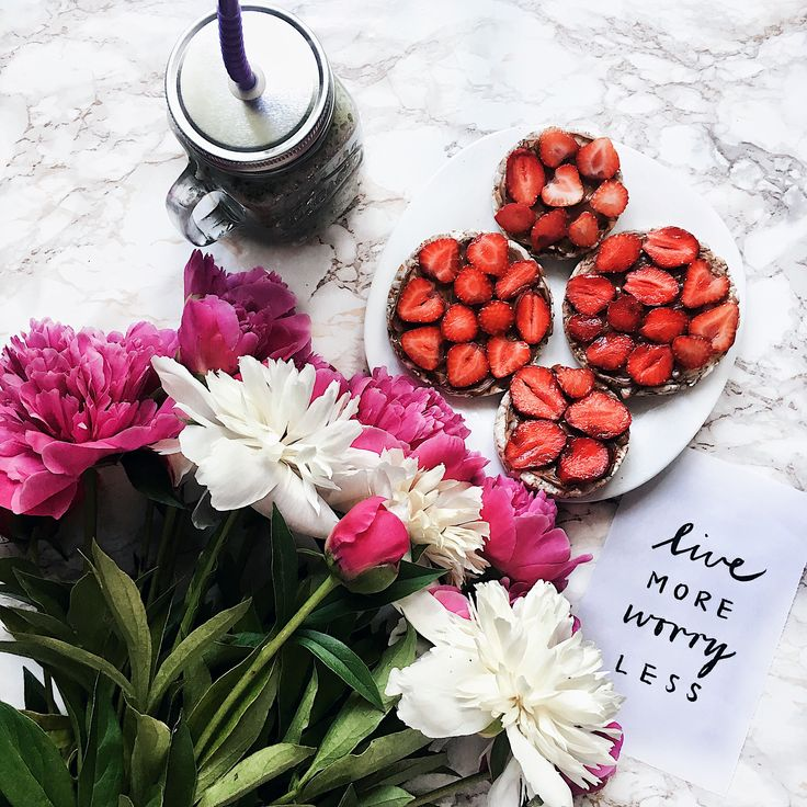 #flowers #morning #strawberry #inspiration