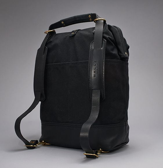 MALLE JOHN - Waxed Canvas Tool Bag