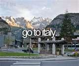 go to italy