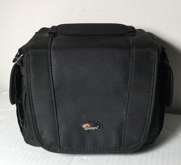 Lowepro Camera Bag Edit 110 Black Camcorder Video Carrying Case Travel #Lowepro