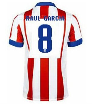 Atletico Madrid magliette da calcio 2015 GARCIA 8 - Home