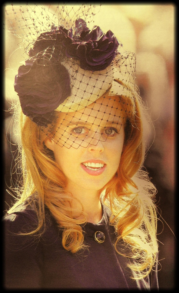 HRH Princess Beatrice of York. A good picture- she looks so much like her mother here.
