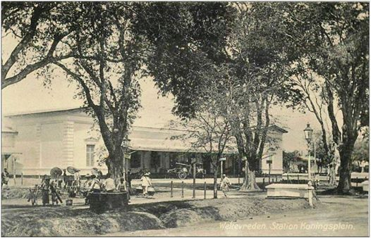 stasiun gambir,sebelum 1920