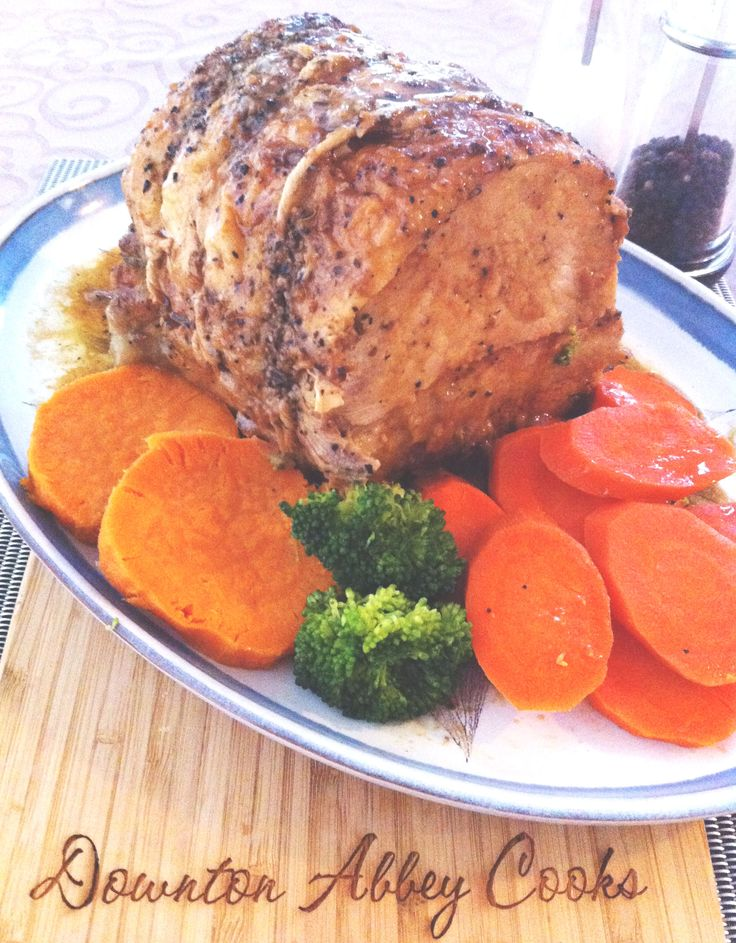 Celebrating my 200th post at www.DowntonAbbeyCooks.com with Lord D's favorite pork roast dinner. A great one pot meal, perfect to prepare before watching Downton Abbey.