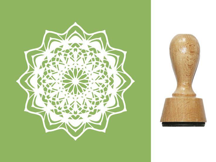 Namen & Monogramme - Stempel Mandala (990508) f. Scrapbooking, Karten.. - ein Designerstück von designs-for-you bei DaWanda