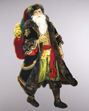 Katherines Collection Old World Santa Doll Life Size