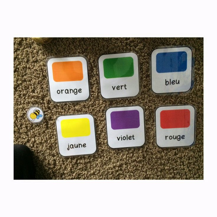 Colours and more! - Primary French Immersion Resources