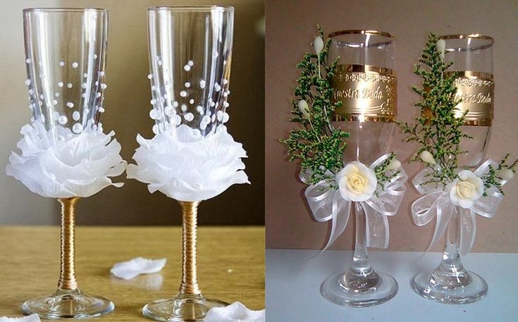 Cool decoracion de copas para boda imponentes imagenes for Adornos para boda civil