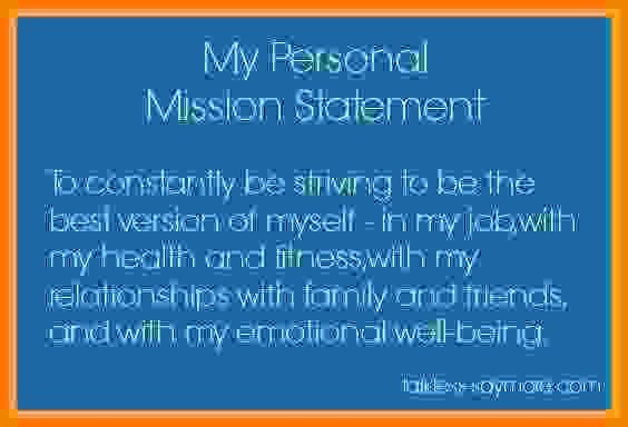 4  personal mission statement examples for students