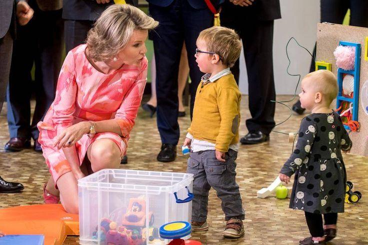 Le couple royal en visite officielle en province de Namur