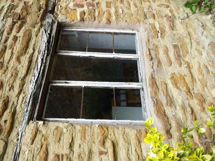 Back window: Windows, Tumbledown Cottage