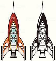 Image result for retro spaceship art
