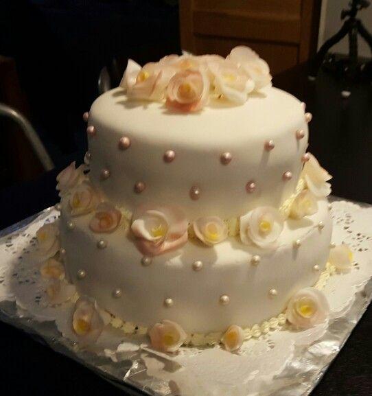 Wedding cake www.icakes.dk