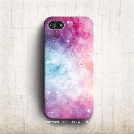 Pastel Galaxy Space iphone 5 case ,Sweet Pink iPhone case , cute iphone 5 case, Hard plastic case , iphone 5 cover