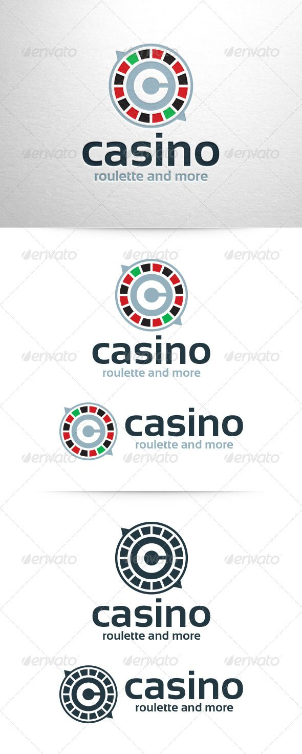 Casino Logo Template — Vector EPS #online #business • Available here → https://graphicriver.net/item/casino-logo-template/6565210?ref=pxcr