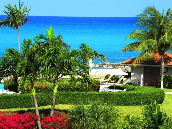 Amazing view of the ocean from this beachfront property in the Cayman Islands.  #vacationrentals