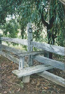 Mulga Fence Stile