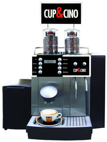 Macchiato Barista für 10-50 Tassen feinsten Premium-Kaffee pro Tag.