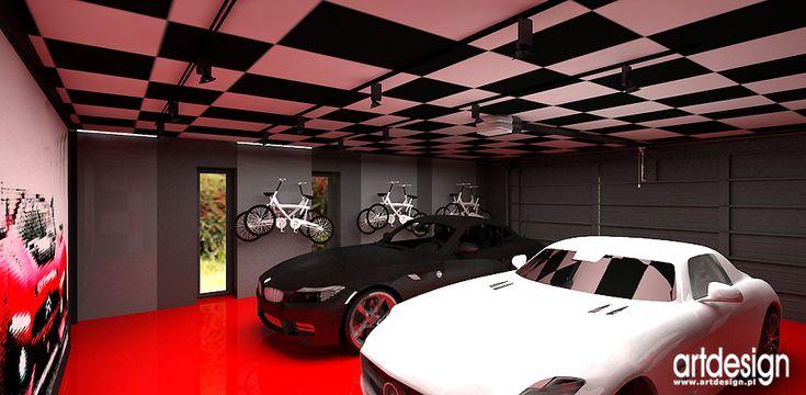 projekty domow garaz