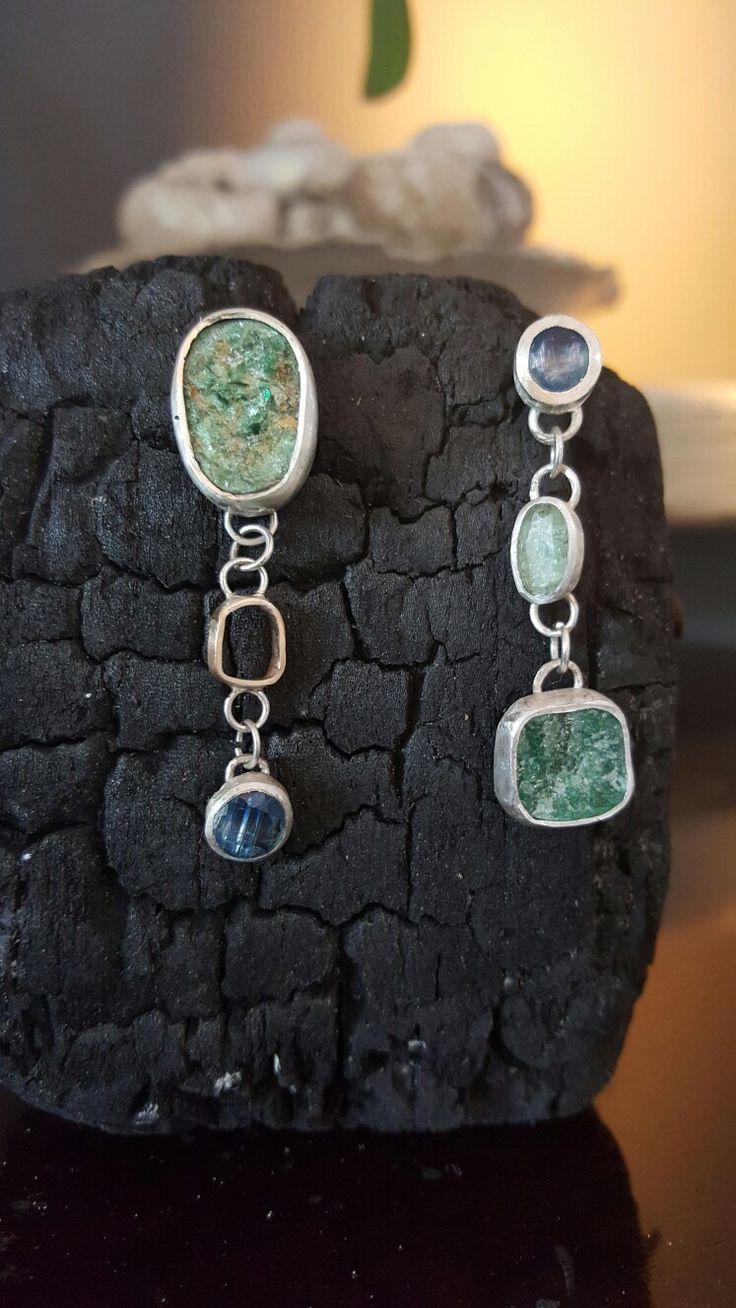 Earrings by Met passion design