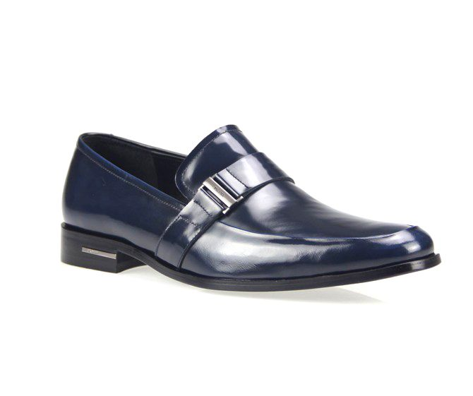 Discountdesignerclothingshop.com Prada men shoes blue