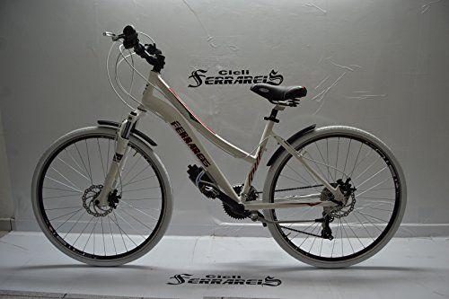 Bicicletta Ibrida Corsa E Passeggio Trekking Modello Dany Banca