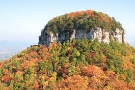 Pilot mountain. Guide to North Carolina Mountain Vacations
