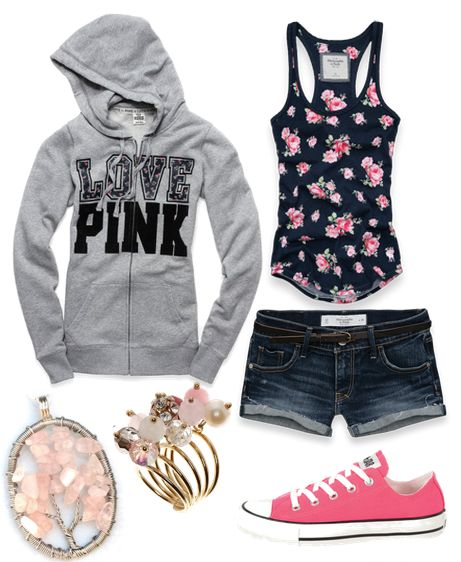Not a big fan of the jacket but love every thing else: Fashion, Style, Clothes, Dream Closet, Cute Outfits, Dreamcloset, Summer Outfits, Pink