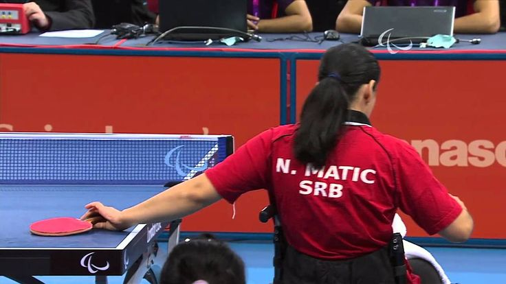 Table Tennis - CHN vs SRB - Women's Cl 4-5 Semifinal 1 M1 - London 2012 ...