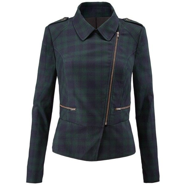 cabi's Tartan Jacket - Cabi Fall 2016 Collection ❤ liked on Polyvore featuring outerwear, jackets, cabi, tartan jacket and plaid jacket