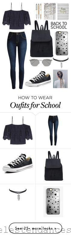 """Back To School Outfit"" by kirsty-mckenzie44 on Polyvore with Ganni, Boohoo"