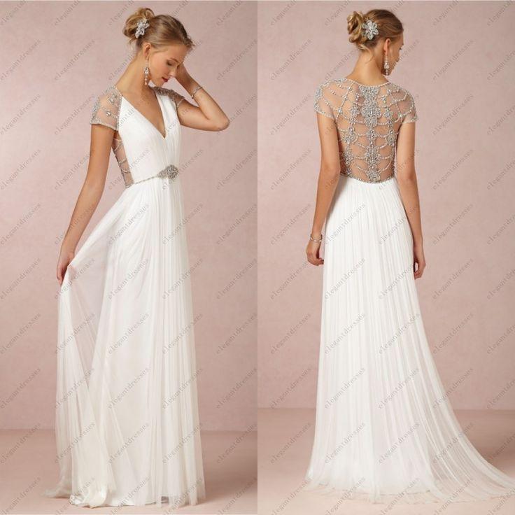 Vestidos de novia sencillos que no sean blancos