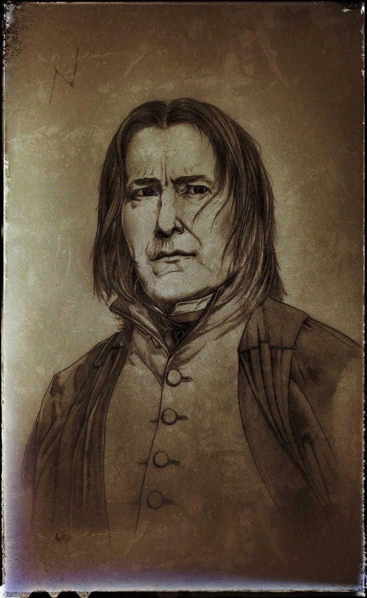 Severus Snape!! The half blood Prince