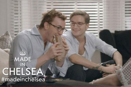 Made In Chelsea - love love love it - Francis and his sandwich