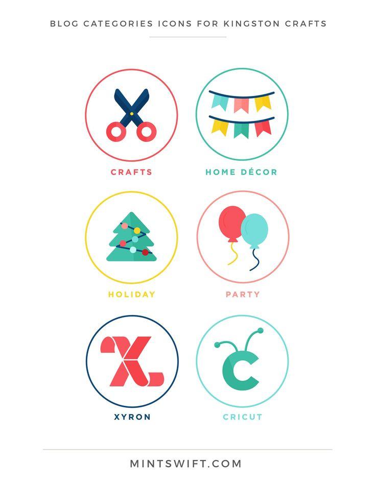 Brand Design for Kingston Crafts - MintSwift | Brand Collaterals Design | Brand Design | Brand Elements | Collateral Design | Logo Design | Brand Identity | Favicon Design | Alternative Logo Design | Submark Design | Social Media Design | Note Card Design | Email Signature Design | Brand Board | Brand Style Guide | Colour Palette | Facebook Branding | Blog post categories design | Business Cards Design | Brand Design Package | MintSwift Design | MintSwift Portfolio | MintSwift| Adrianna…