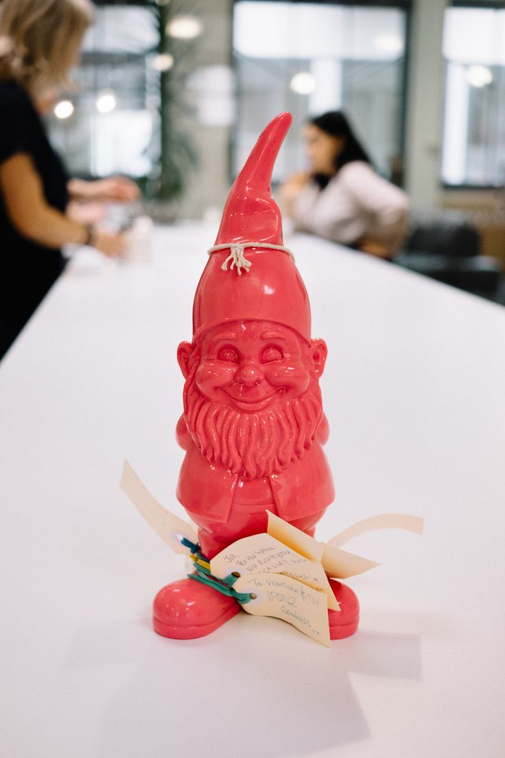 Sharing the @real_experience Gnome of Awesomeness with you. It's our equivalent of Olympics gold. You deserve it! #Rio2016