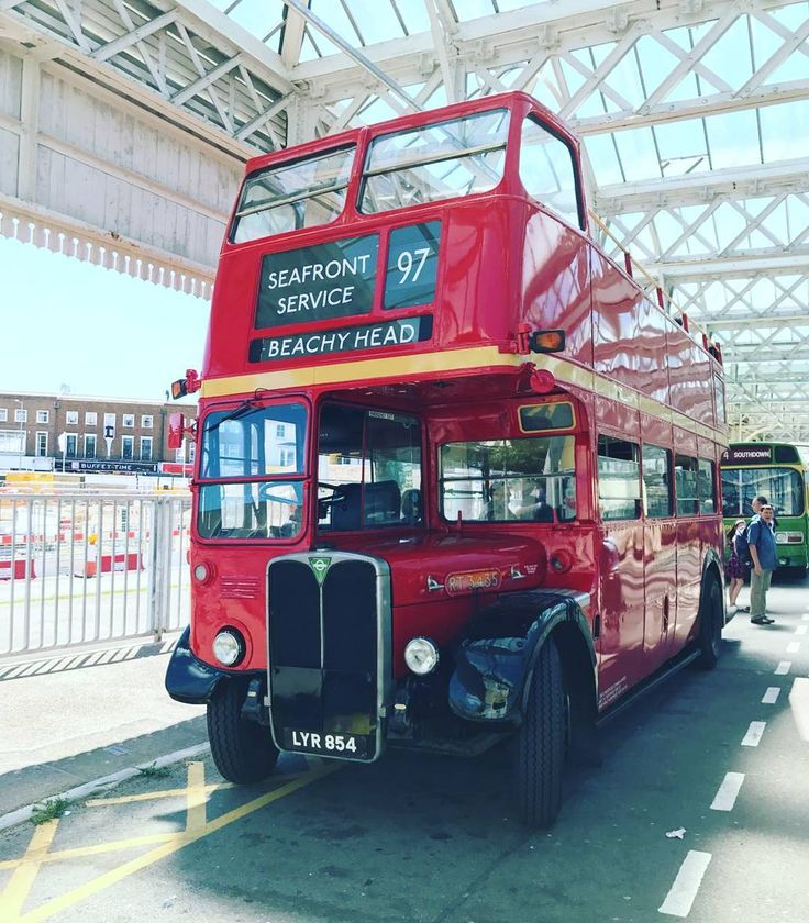 A tour down memory lane... love this crazy town specially whe the weather is like today  #doubledecker #vintagestyle #vintage #lifestyle #brighton #eastbourne #beachyhead #thedowns #sightseeing #handmadeuk #uk #beach #summer #sunshine #seaside #holidays #vacation #vintagenemories #bus