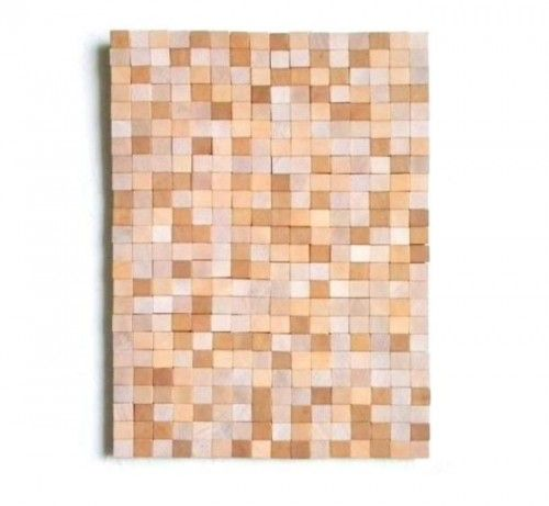 DIY scrabble tile art. Would be fun to create words for different rooms of the house.
