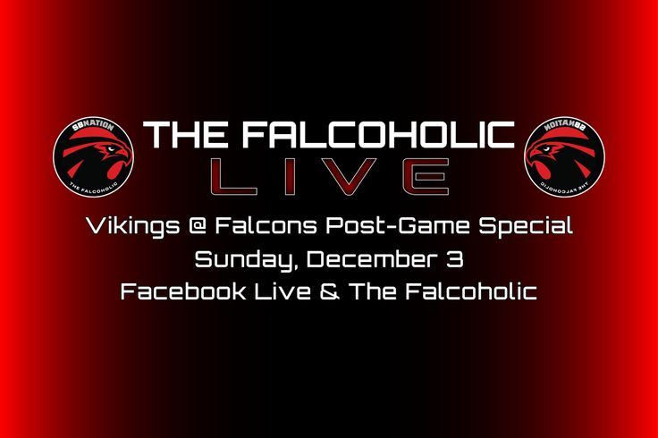 The Falcoholic Live: Vikings @ Falcons Post-Game Special
