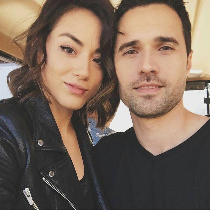 Chloe Bennet and Brett Dalton