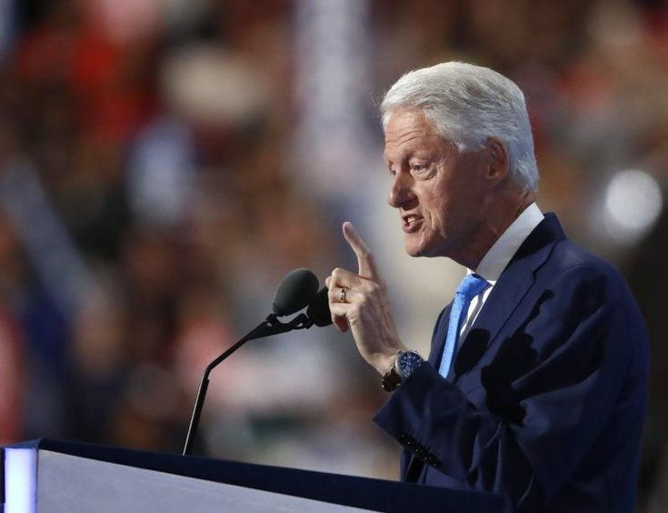 Bill Clinton's speech at the Democratic National Convention late Tuesday was part grandfatherly musings, part nostalgic love story, part family history, part political memoir and entirely about portraying his wife as trustworthy, authentic and an agent of change for voters sick of the status quo.  Republicans