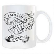 Harry Potter Solemnly Swear White Mug