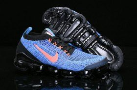 6c5b1583fee Nike Air Vapormax Flyknit 2019 Mens Womens Running Shoes Black Royal Blue  Pink AJ6900-015