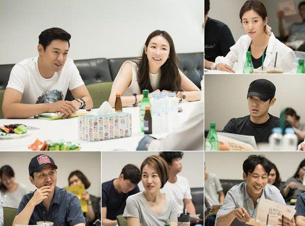 'Woman with a Suitcase' first script reading, Joo Jin-mo and Choi Ji-woo show…