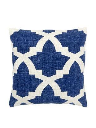57% OFF Mela Artisans Ava Silk Pillow, Indigo