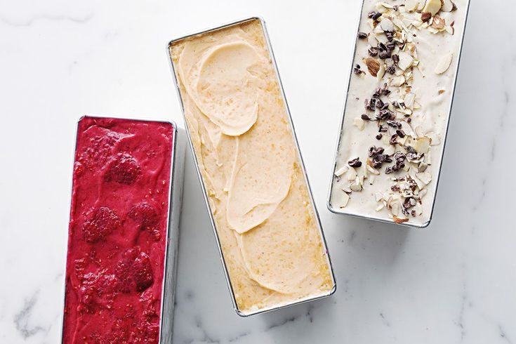 Sweetened with bananas, this sugar-free raspberry sorbet is ready in minutes.