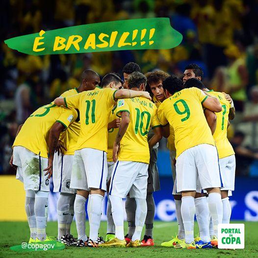 Brasil - worldcup 2014 football team